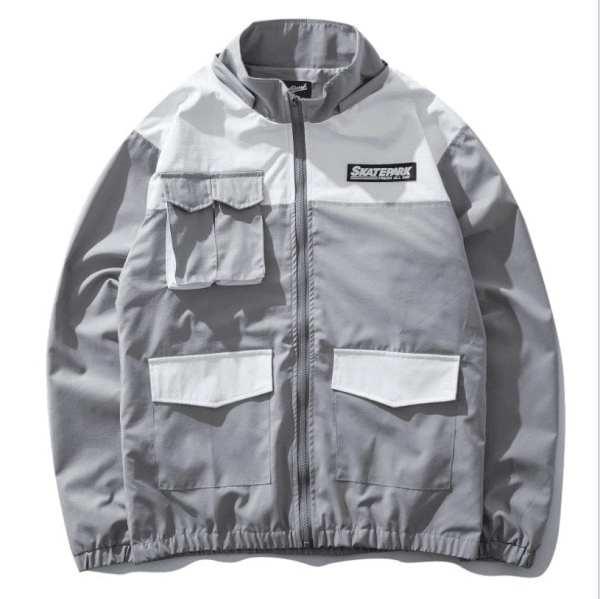 Chaqueta de abrigo de estilo urbano para hombre