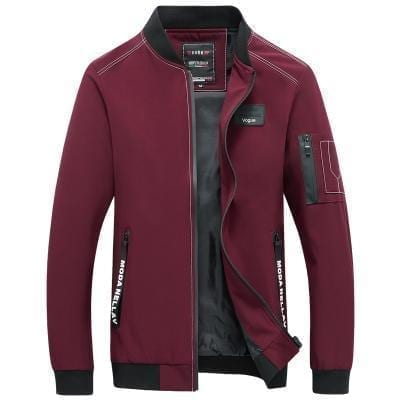 Men's casual mid-season sports style jacket