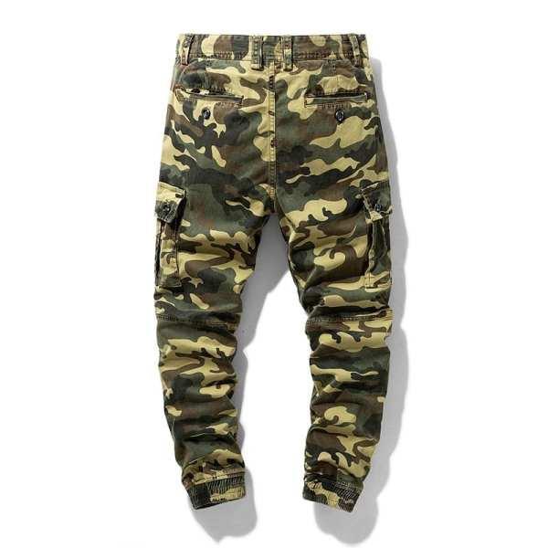 Pantalon Cargo Style Camouflage pour hommes