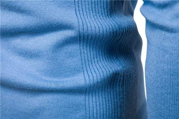 Pull casual col rond manches longues pour hommes