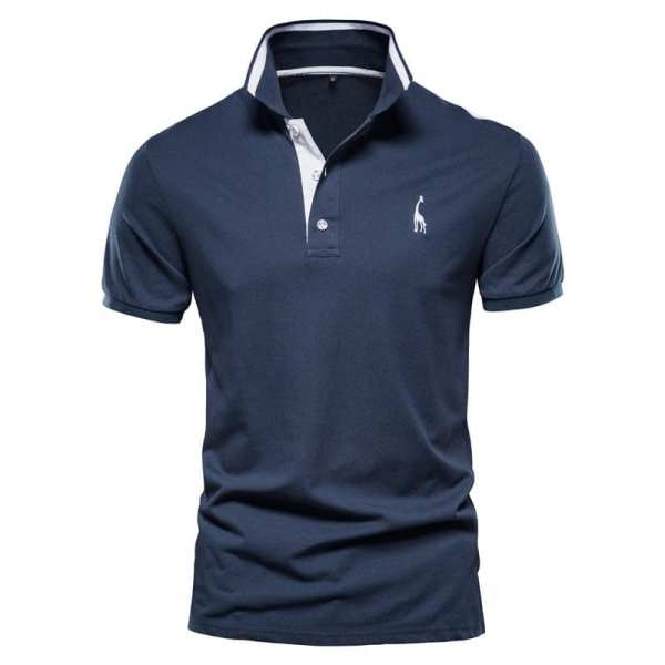 Polo simple manches courtes hommes