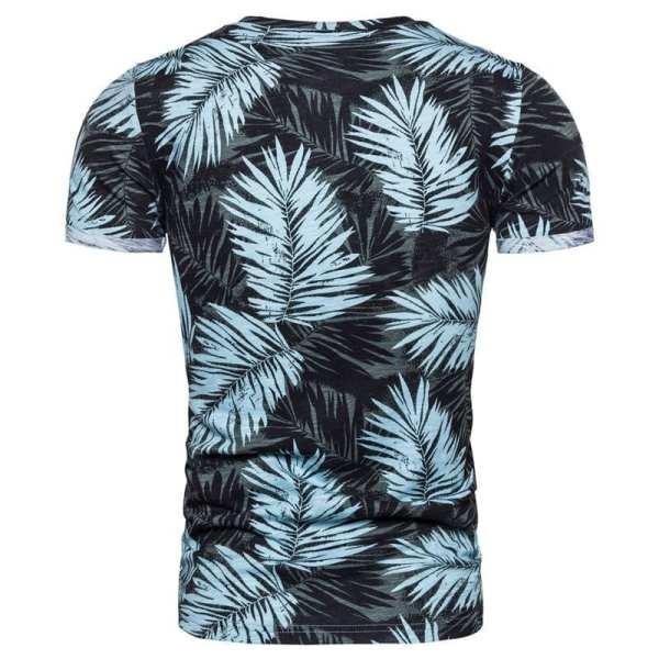 Camiseta estampada de ajuste delgado para hombre