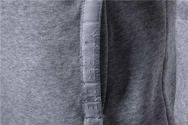 Sweat à capuche couleur unie slim pour hommes