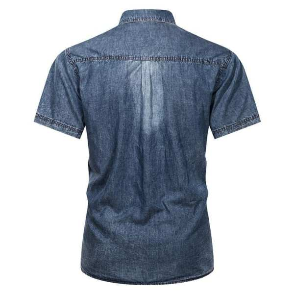 Men's jeans denim shirt