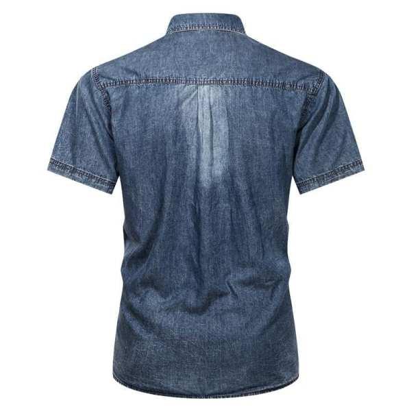 Camisa de mezclilla jeans para hombre