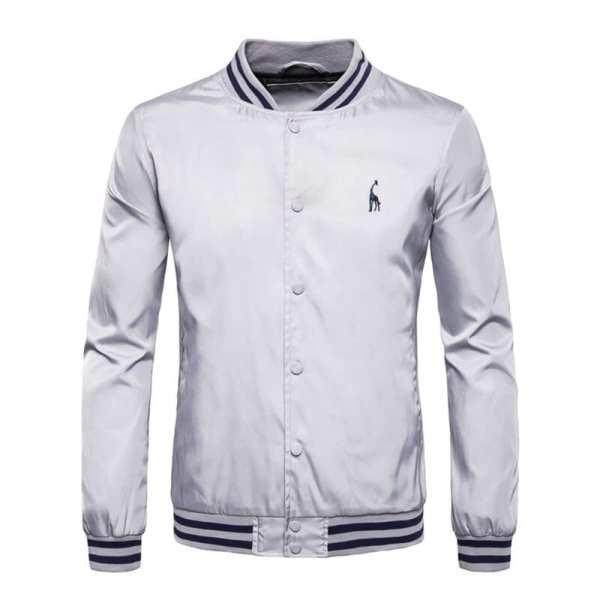 Classic baseball-style jacket for men