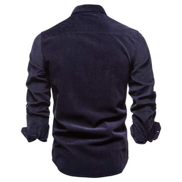 Camisa casual simple para hombre