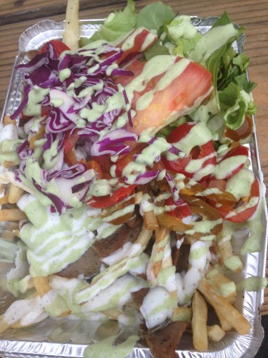 Kabob Trolley - Gyro Fries