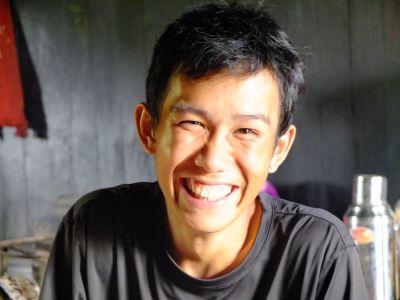 Meet Sainaw, the smiliest guide ever