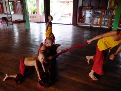 It`s fun to be a monk in Burma!