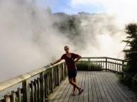 Waikite - or the giant natural steam bath