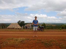 Mondulkiri and typical Bunung house... and PEF if you haven't noticed