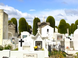 The cemetery of Punta Arenas. Many East Europeans immigrants are buried there.