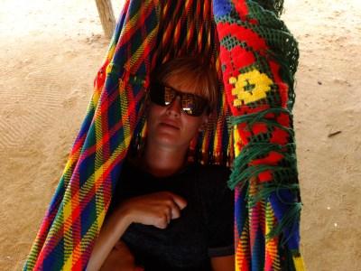 Chinchorro - the locally made hammock, incredibly comfortable for sleeping.