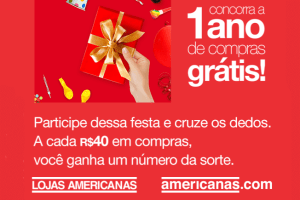 Promoção de aniversário Americanas 2017
