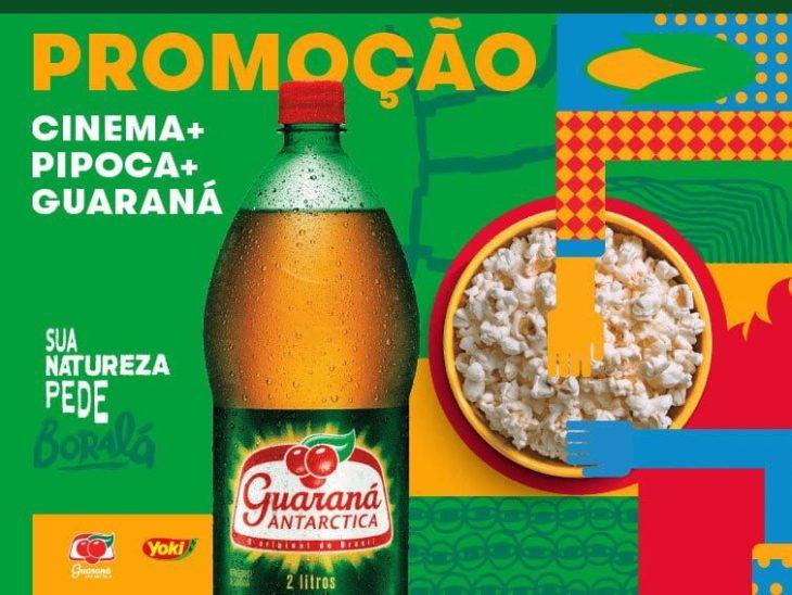 Promoção Guaraná combina com pipoca Yoki