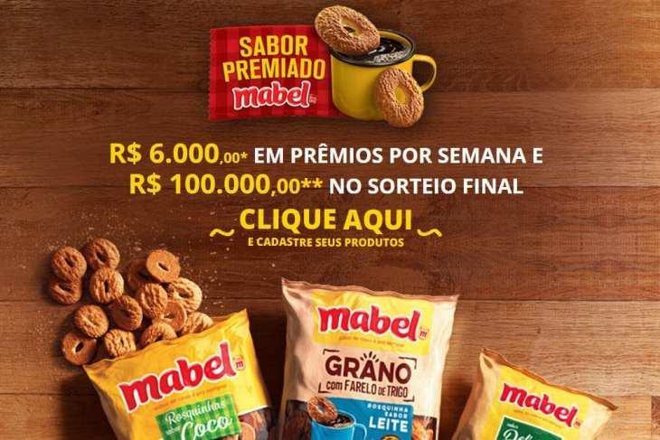 Promoção sabor premiado Mabel