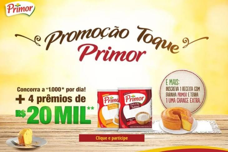 Promoção Toque Primor 2017