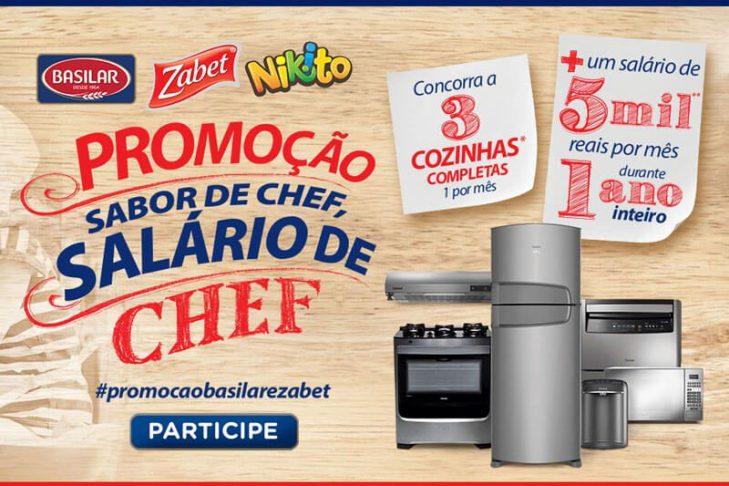 Promoção Sabor de Chef salário de Chef Brasilar