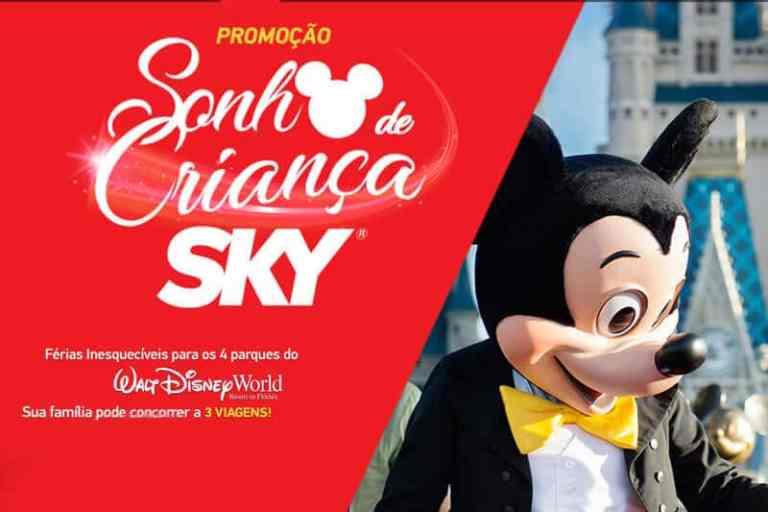 Promoção Sonho de Criança Sky