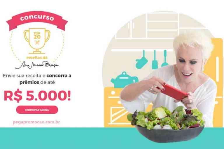 Concurso de Receitas Ana Maria Braga