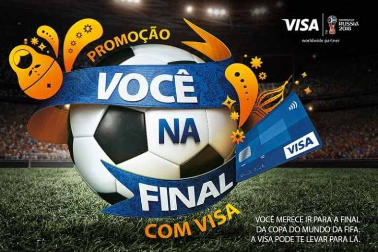 Promoção Visa Você na Final da Copa do Mundo 2018