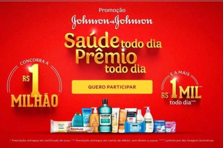 Promoção Johnson 2018 Saúde Todo Dia, Prêmio Todo Dia (1 Milhão)