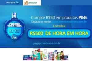Promoção Atacadão P&G Prêmio Toda Hora