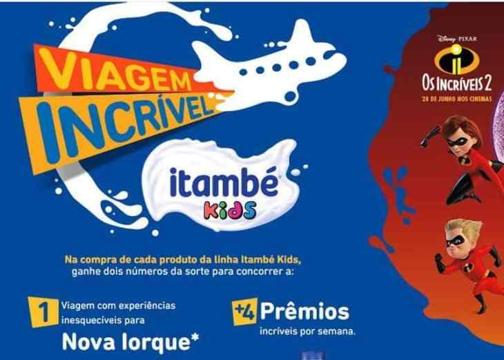 Promoção Itambé Kids Os Incríveis 2
