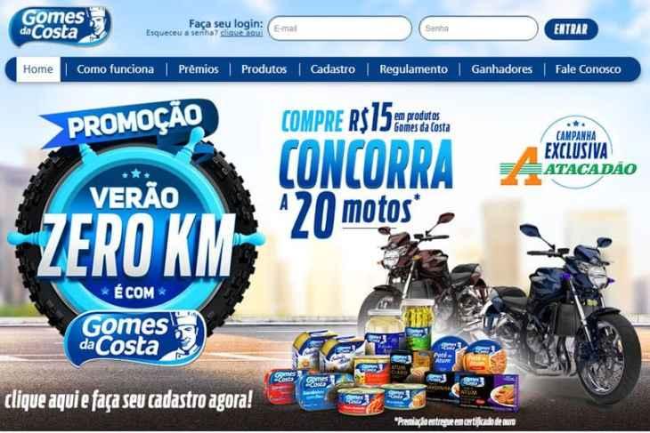 promoção Gomes da Costa 2019