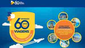 Promoção 2019: Aniversário Lojas Colombo 60 anos 60 viagens