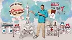 Promoção Cacau Show Creme La Creme: Concorra a 7 viagens para París