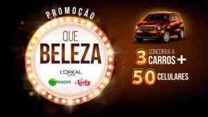 Promoção L'Oréal 2019: Concorra a Celulares e 3 carros zero km