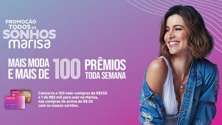 Promoção Marisa 2020 Todos Os Sonhos
