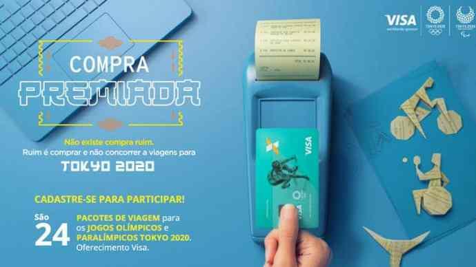 Promoção Visa 2020 - Olimpíadas Tokyo