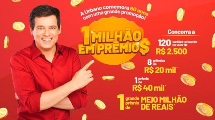 Promoção Urbano Alimentos 1 milhão