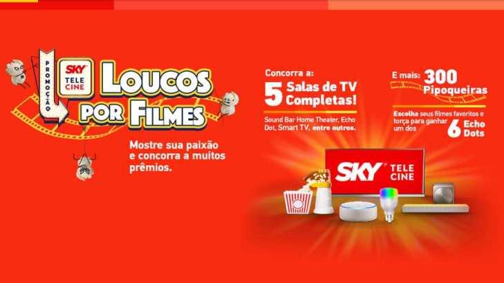 Promoção Sky Louco por Filmes