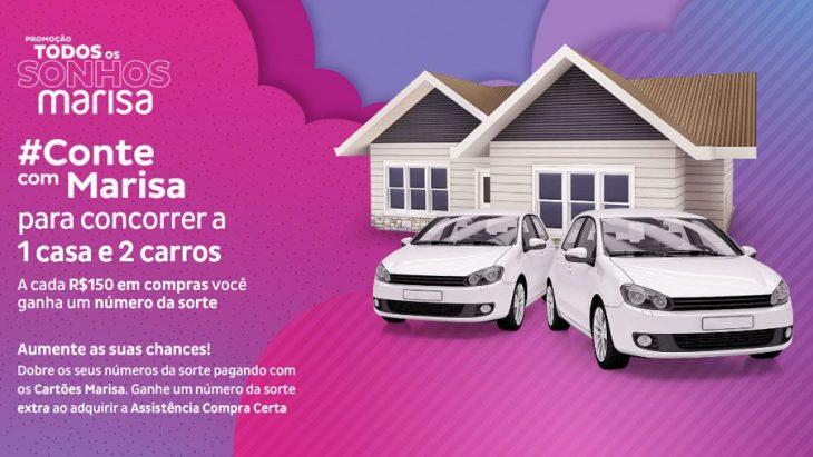 Promoção Marisa 2021 Todos os Sonhos