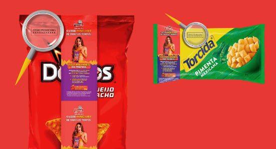 Cadastrar código da embalagem na promoção Elma Chips