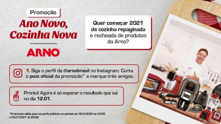 Promoção Arno 2021 Cozinha Nova