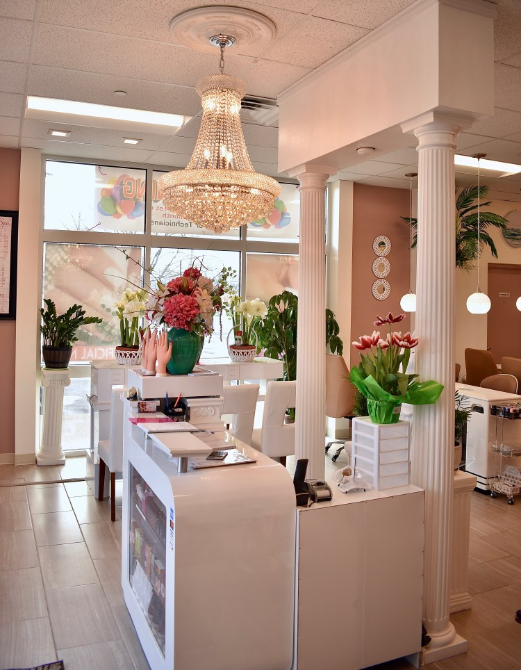 PegArch designs Luxury Nails and Spa in Berlin CT - Grand Opening ...