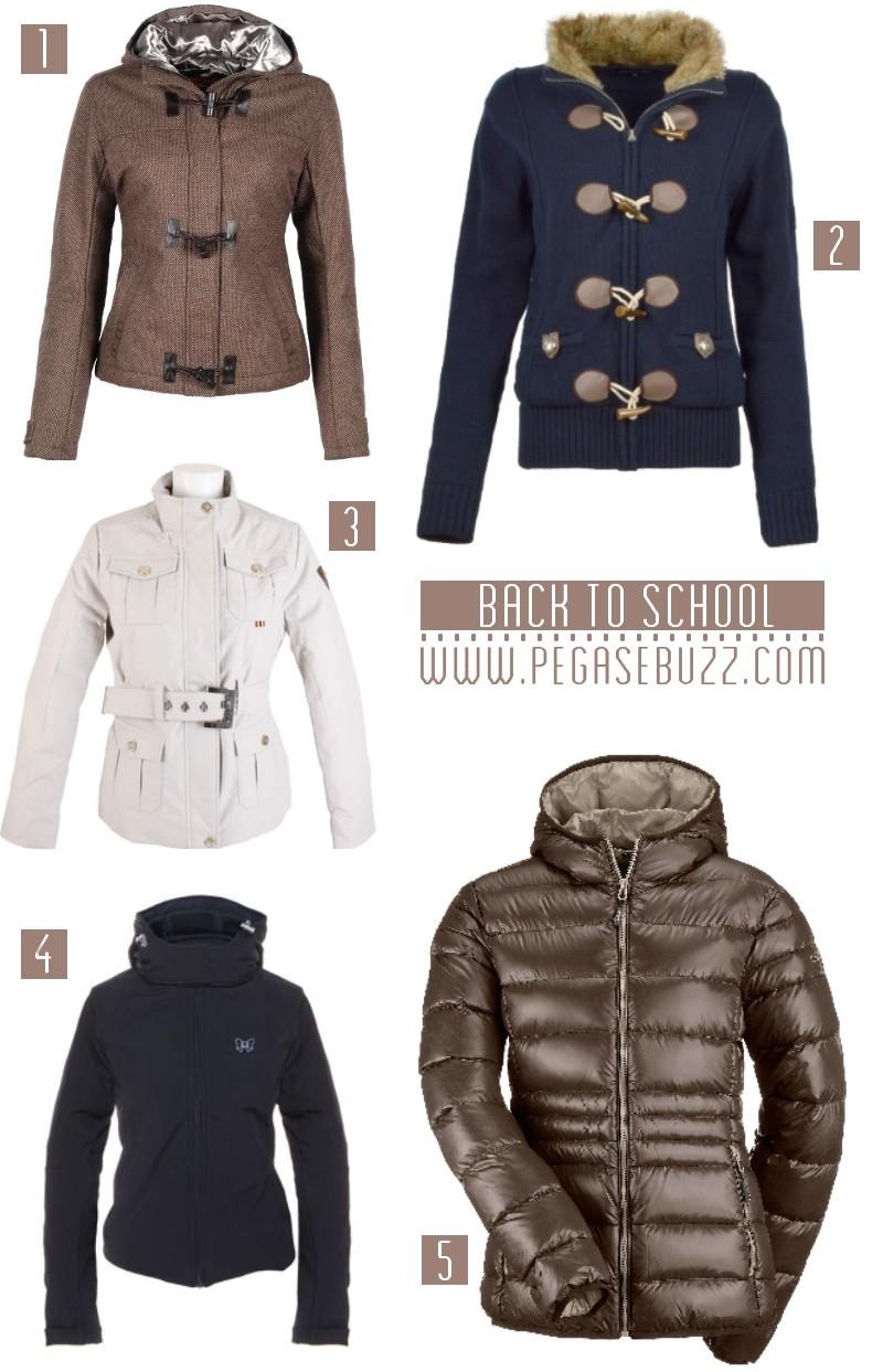 Equestrian fashion : vestes, blousons, cardigans, doudounes d'équitation