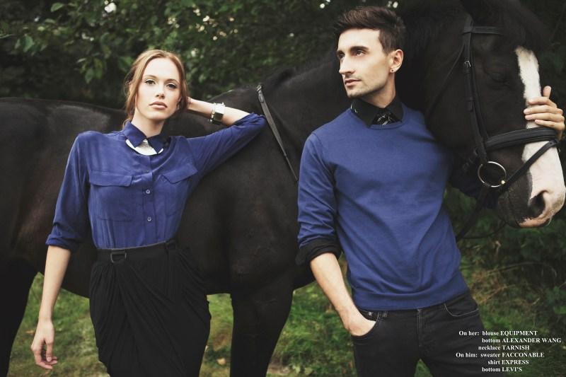 Bethany Olson : Lady loves an equestrian
