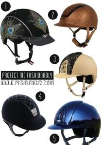Equestrian Fashion : casque/helmet  Uvex, Samshield, Kep Italia