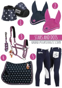 www.pegasebuzz.com | Equestrian fashion : stars and dots