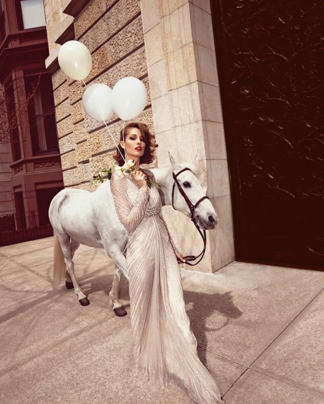 www.pegasebuzz.com | Nadja Bender by Camilla Akrans for Neiman Marcus, september 2014