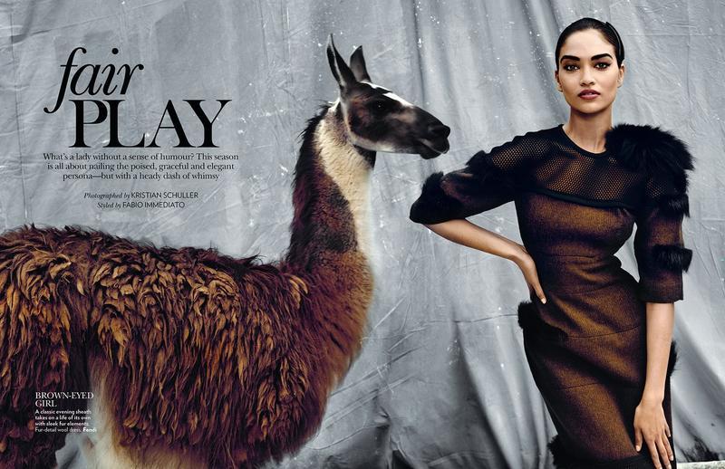 www.pegasebuzz.com | Shanina Shaik by Kristian Schuller for Vogue India, december 2014