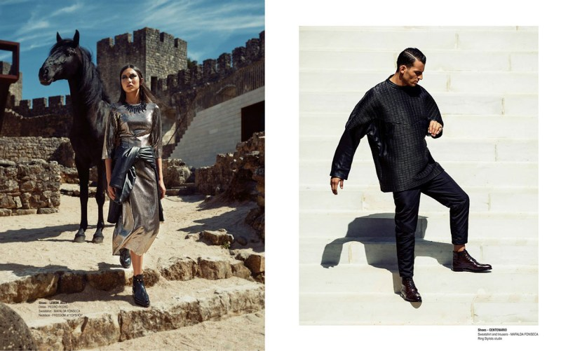 www.pegasebuzz.com | Kevin Sampaio, Joana Ogura and Helene Hammarby by Frederico Martins for Portuguese Soul #7