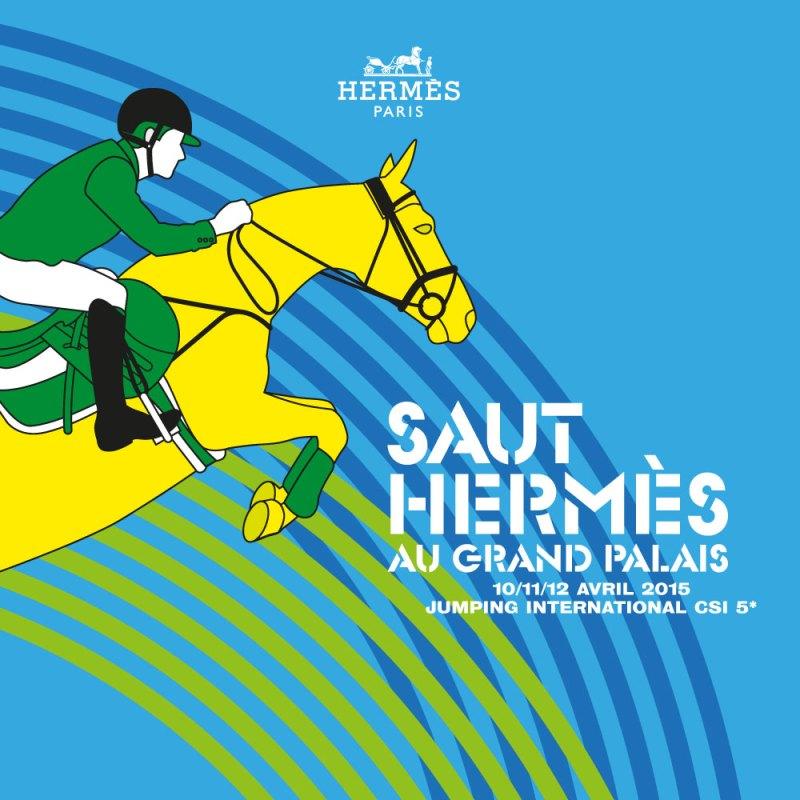 www.pegasebuzz.com | Saut Hermès 2015 au Grand Palais : affiche