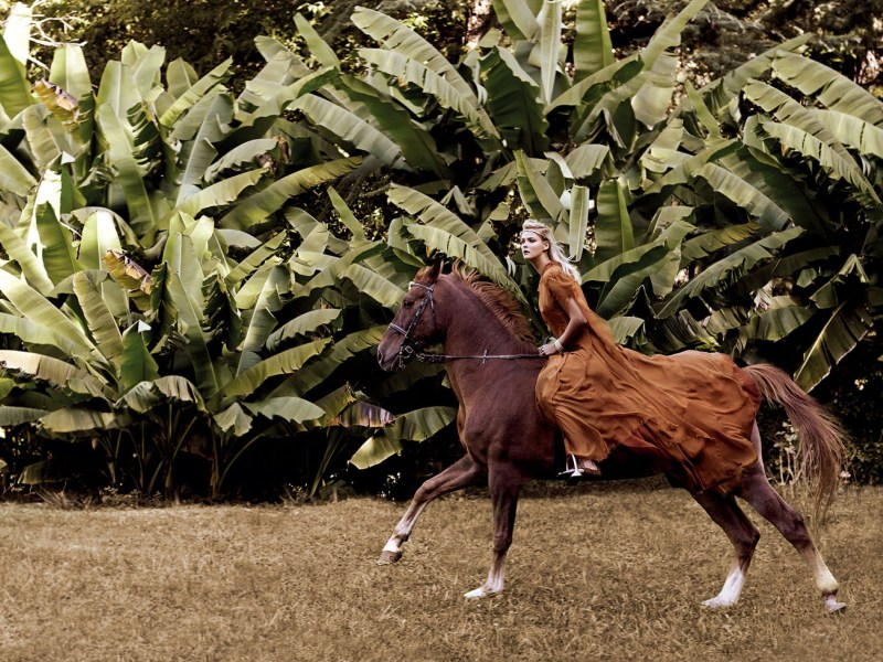 www.pegasebuzz.com | Carmen Kass by Giovanni Gastel for Harper's Bazaar Spain, february 2016